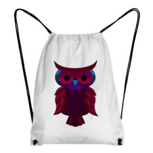 Backpack-bag Dark owl - PrintSalon