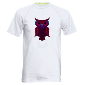 Men's sports t-shirt Dark owl - PrintSalon
