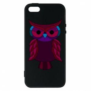 Phone case for iPhone 5/5S/SE Dark owl - PrintSalon