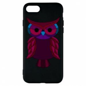 Phone case for iPhone 7 Dark owl - PrintSalon
