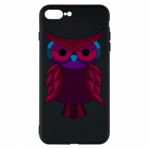 Phone case for iPhone 7 Plus Dark owl - PrintSalon