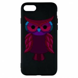 Phone case for iPhone 8 Dark owl - PrintSalon