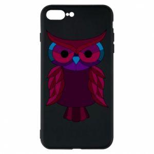 Phone case for iPhone 8 Plus Dark owl - PrintSalon