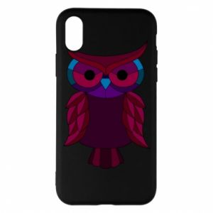 Phone case for iPhone X/Xs Dark owl - PrintSalon