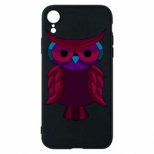 Phone case for iPhone XR Dark owl - PrintSalon