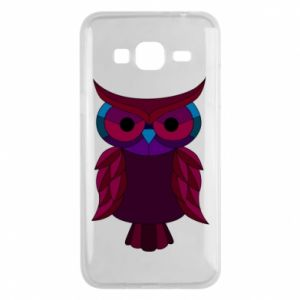 Phone case for Samsung J3 2016 Dark owl - PrintSalon