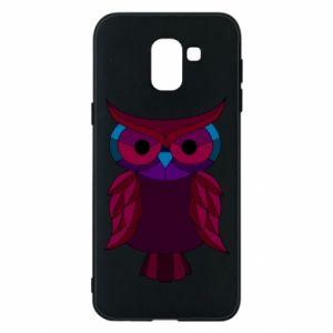 Phone case for Samsung J6 Dark owl - PrintSalon