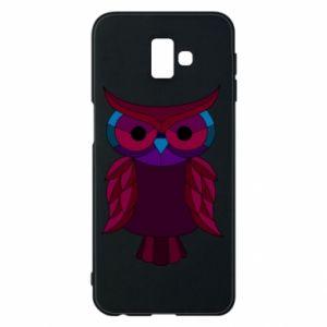 Phone case for Samsung J6 Plus 2018 Dark owl - PrintSalon