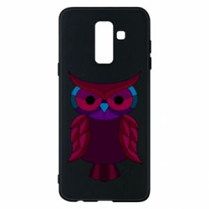 Phone case for Samsung A6+ 2018 Dark owl - PrintSalon