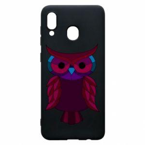 Phone case for Samsung A20 Dark owl - PrintSalon