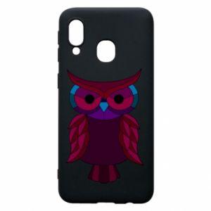 Phone case for Samsung A40 Dark owl - PrintSalon