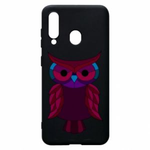 Phone case for Samsung A60 Dark owl - PrintSalon