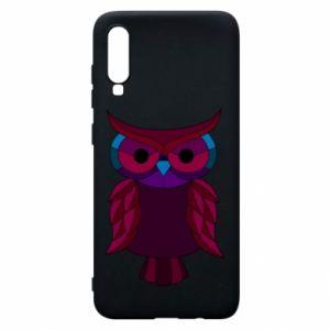 Phone case for Samsung A70 Dark owl - PrintSalon