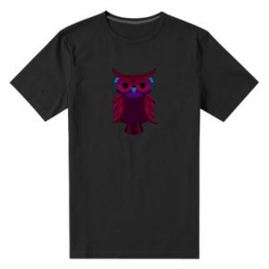 Men's premium t-shirt Dark owl - PrintSalon