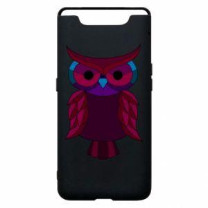 Phone case for Samsung A80 Dark owl - PrintSalon