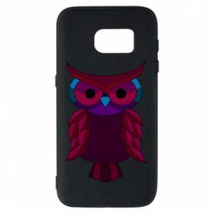 Phone case for Samsung S7 Dark owl - PrintSalon