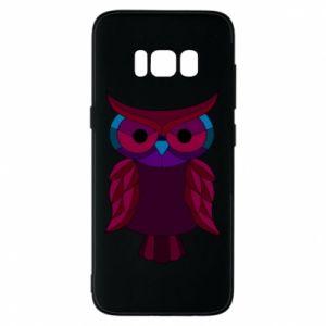 Phone case for Samsung S8 Dark owl - PrintSalon