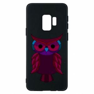 Phone case for Samsung S9 Dark owl - PrintSalon