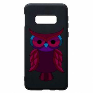 Phone case for Samsung S10e Dark owl - PrintSalon