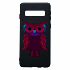 Phone case for Samsung S10 Dark owl - PrintSalon