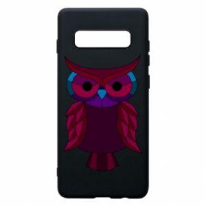 Phone case for Samsung S10+ Dark owl - PrintSalon