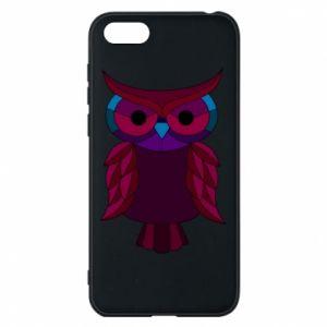 Phone case for Huawei Y5 2018 Dark owl - PrintSalon
