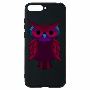 Phone case for Huawei Y6 2018 Dark owl - PrintSalon