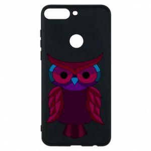 Phone case for Huawei Y7 Prime 2018 Dark owl - PrintSalon