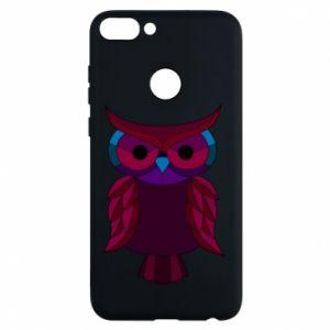 Phone case for Huawei P Smart Dark owl - PrintSalon