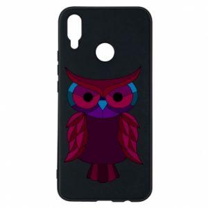Phone case for Huawei P Smart Plus Dark owl - PrintSalon