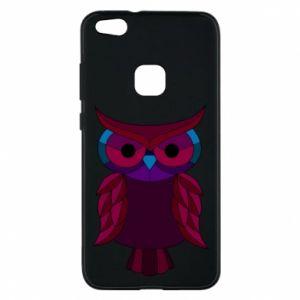 Phone case for Huawei P10 Lite Dark owl - PrintSalon