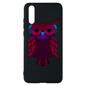 Phone case for Huawei P20 Dark owl - PrintSalon