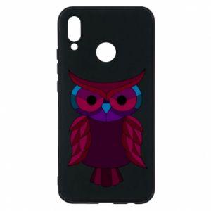 Phone case for Huawei P20 Lite Dark owl - PrintSalon