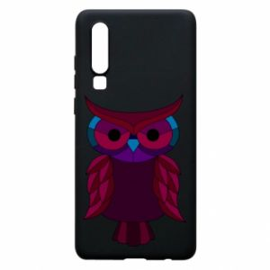 Phone case for Huawei P30 Dark owl - PrintSalon