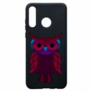 Phone case for Huawei P30 Lite Dark owl - PrintSalon