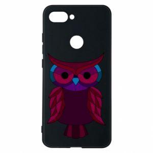 Phone case for Xiaomi Mi8 Lite Dark owl - PrintSalon