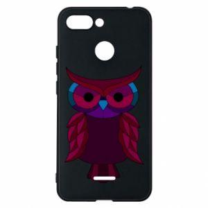 Phone case for Xiaomi Redmi 6 Dark owl - PrintSalon