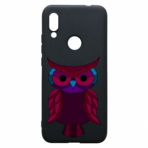 Phone case for Xiaomi Redmi 7 Dark owl - PrintSalon