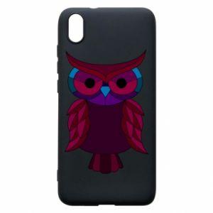 Phone case for Xiaomi Redmi 7A Dark owl - PrintSalon