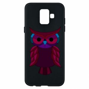 Phone case for Samsung A6 2018 Dark owl - PrintSalon
