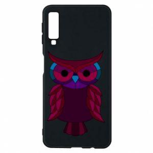 Phone case for Samsung A7 2018 Dark owl - PrintSalon