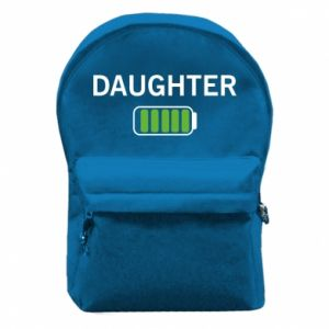 Backpack with front pocket Daughter charge - PrintSalon