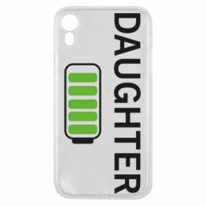 Phone case for iPhone XR Daughter charge - PrintSalon
