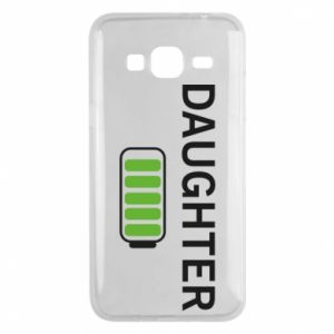 Phone case for Samsung J3 2016 Daughter charge - PrintSalon
