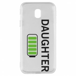 Phone case for Samsung J3 2017 Daughter charge - PrintSalon
