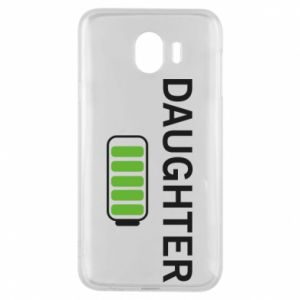 Phone case for Samsung J4 Daughter charge - PrintSalon