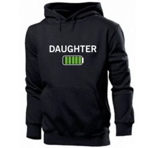 Men's hoodie Daughter charge - PrintSalon