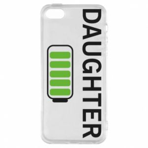 Phone case for iPhone 5/5S/SE Daughter charge - PrintSalon