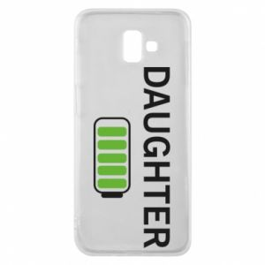 Phone case for Samsung J6 Plus 2018 Daughter charge - PrintSalon