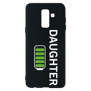 Phone case for Samsung A6+ 2018 Daughter charge - PrintSalon